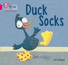 Duck in Socks