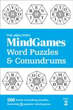 Times Mind Games Word Puzzles and Conundrums Book 2