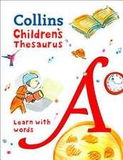 Collins Dictionaries: Children's Thesaurus