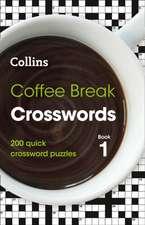 Coffee Break Crosswords Book 1