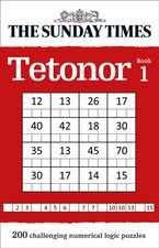 The Sunday Times Tetonor Book 1