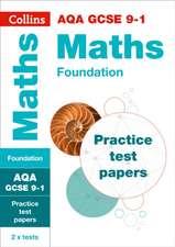 AQA GCSE 9-1 Maths Foundation Practice Papers