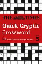 Times Quick Cryptic Crossword Book 5