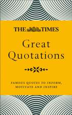 Times Great Quotations