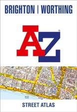 Brighton and Worthing A-Z Street Atlas