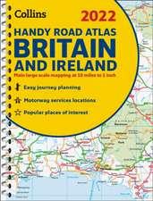 2022 Collins Handy Road Atlas Britain