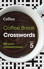 Coffee Break Crosswords Book 5