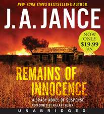 Remains of Innocence Low Price CD: A Brady Novel of Suspense
