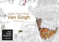 Color Your Own Van Gogh 20 Postcards