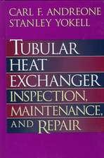 Tubular Heat Exchanger: Inspection, Maintenance and Repair
