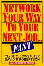 Network Your Way to Your Next Job Fast