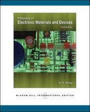 Principles of Electronic Materials and Devices (Int'l Ed)