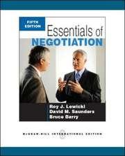 Essentials of Negotiation (Int'l Ed)