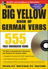 The Big Yellow Book of German Verbs (Book w/CD-ROM)