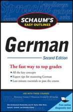 Schaum's Easy Outline of German, Second Edition