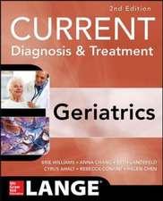 Current Diagnosis and Treatment: Geriatrics: Lange