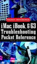 iMac, iBook, and G3 Troubleshooting Pocket Reference