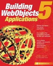 WebObjects 5 for Java:  A Developer's Guide