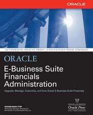 Oracle E-Business Suite Financials Administration