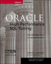 Oracle High-Performance SQL Tuning