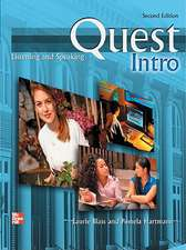 Quest Intro Level Listening and Speaking Student Book