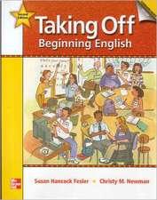 Taking Off Literacy Workbook with Audio CD: Beginning English