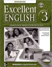 Excellent English Level 3 Workbook with Audio CD: Language Skills For Success