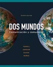 Workbook/Lab Manual Part A to accompany Dos mundos