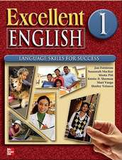 Excellent English Level 1 Student Book and Workbook Pack L1: Language Skills For Success