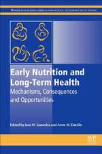 Early Nutrition and Long-Term Health: Mechanisms, Consequences, and Opportunities