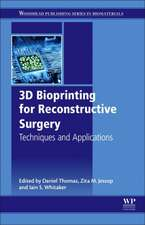 3D Bioprinting for Reconstructive Surgery: Techniques and Applications