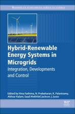 Hybrid-Renewable Energy Systems in Microgrids: Integration, Developments and Control