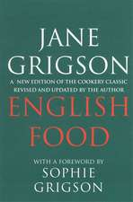 Grigson, J: English Food