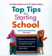 Top Tips for Starting School