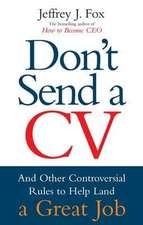 Don't Send a CV