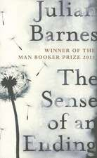 The Sense of an Ending: New York Times Bestseller
