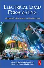Electrical Load Forecasting: Modeling and Model Construction