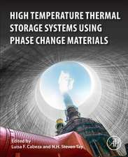 High-Temperature Thermal Storage Systems Using Phase Change Materials