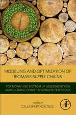 Modeling and Optimization of Biomass Supply Chains: Top-Down and Bottom-up Assessment for Agricultural, Forest and Waste Feedstock