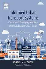 Informed Urban Transport Systems