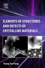 Elements of Structures and Defects of Crystalline Materials