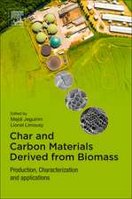Char and Carbon Materials Derived from Biomass