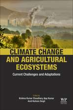 Climate Change and Agricultural Ecosystems