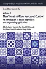 New Trends in Observer-Based Control