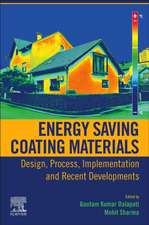 Energy Saving Coating Materials: Design, Process, Implementation and Recent Developments