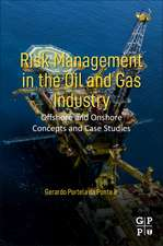 Risk Management in the Oil and Gas Industry