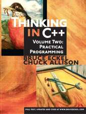 Thinking in C++, Volume 2: Practical Programming: United States Edition