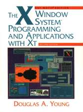 The X Window System:  Programming and Applications with XT, OSF/Motif