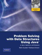 Problem Solving with Data Structures Using Java: International Version
