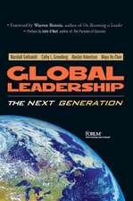 Global Leadership:  The Next Generation
